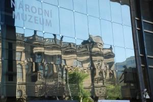 Stary gmach muzeum  wodbiciach Nowego pawilonu (adaptacja z2006 roku)