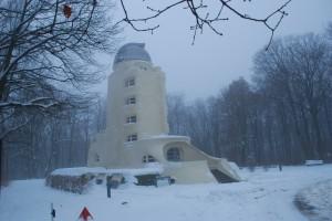 EINSTEINTURM / Wieża Einsteina wzimowej odsłonie... (Potsdam, 2010)