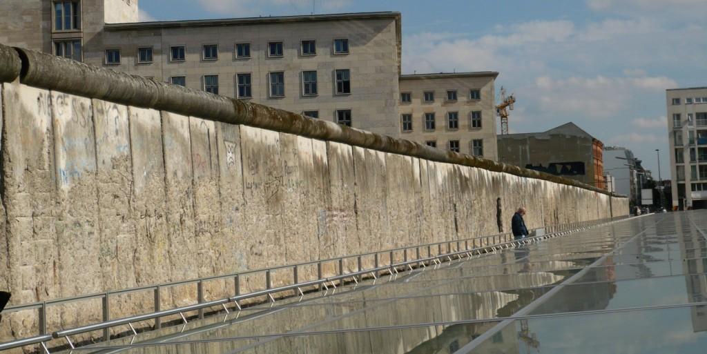 Topografia Terroru, fragment ekspozycji plenerowej, Berlin