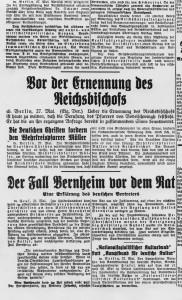 Gliwicka prasa o postępowaniu w Lidze Narodów. 28 maja 1933 r.