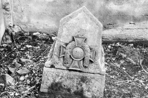 Nagrobek nacmentarzu żołnierzy austriackich. Wiśniowa.