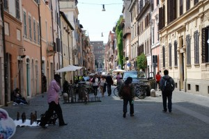 Sceny uliczne z wiecznego miasta
