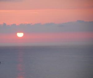 Zachody Słońca są też spektakularne... Morze Bałtyckie (2012)