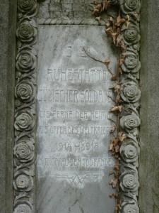 Tablica zpomnika żołnierzy żydowskich. Opawa