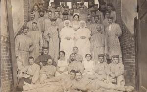 Szpitalnicy. Gleiwitz/ Gliwice rok 1915.