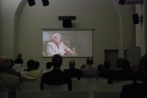 Pokaz filmu w Goerlitz. Na sali wielu z bohaterów dokumentu...