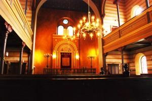 Synagoga wswoim współczesnym splendorze. (Karniów/Krnov 2014)