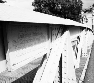 Wciąż wużyciu. Most karniowski...