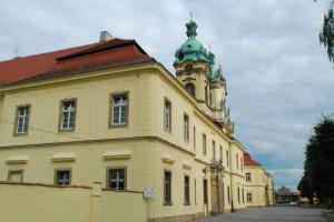 Legnickie Pole. Dawny klasztor pobenedyktyński ibazylika
