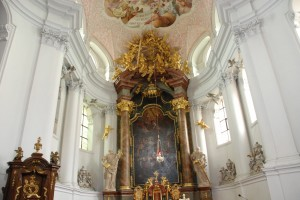 Ołtarz główny. Legnickie Pole