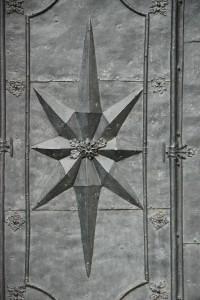Detal drzwi dobazyliki