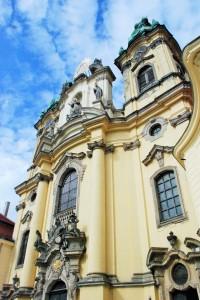 Barokowe poruszenie. Fasada bazyliki wLegnickim Polu