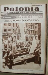 Okładka dodatku ilustrowanego dogazety POLONIA (1933 r.), którejzałożycielem iwłaścicielem był Wojciech Korfanty