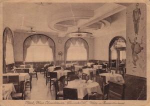 """Piwiarnia iwiniarnia hotelu """"Haus Oberschlesien"""" (po1929)"""