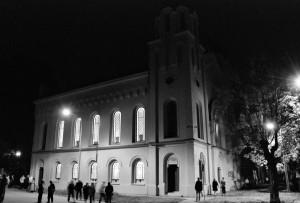 Nocna wizyta Jahwe. Synagoga wKrnovie