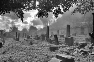 Cmentarz, wersja B&W