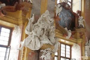 Sala książęca. Lubiąż - d.klasztor cysterski