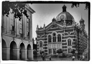 Synagga wOpawie / Synagoge in Troppau  (początek XX wieku)