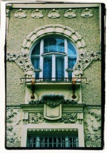 Art Nouveau Window / Secesyjne okno (Ostrava)