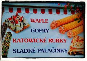 Katowickie rurki / Katowice dessert (what's a surprise!)
