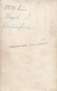 Fotografja Smoll, Lipiny, Bytomska 4 (1934)