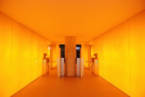 Wejście / Entrance (Form in orange)