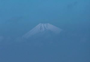 Fuji in blue (Półwysep Izu / Izu Peninsula)