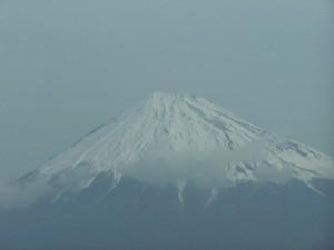 Fuji w zimowej odsłonie / Fuji in winter time