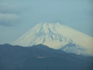 Fuji widziane w drodze do Kioto / Fuji as seen on my way to Kyoto
