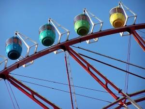 Zabawa / Amusement (Merry-go-round, Odaiba, Tokyo)