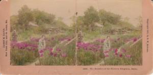 Egzotyczny raj... Japonia k. XIX wieku oczyma przybysza zZachodu (fot.stereoskopowa 1901)