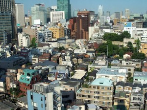 Przestrzeń  / Urban space (Roppongi, Tokyo)