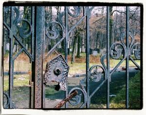 Brama. Cmentarz żydowski wGliwicach