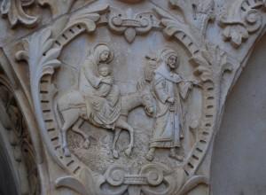 Franciszkańska wizja (Betlejem. Grota Mleczna)