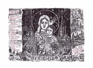 Linoryt Bożonarodzeniowy,  Rudolf Riedel (2014)