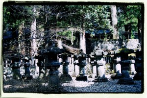 Nikko. Antyczne latarnie / Nikko, Old lanterns
