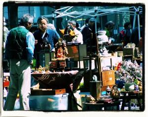 Tokio. Targi staroci / Tokyo. Antique market