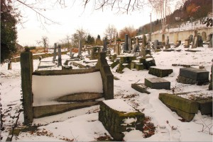 Stary cmentarz żydowski (styczeń 2015 r.)