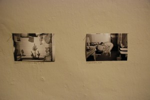 Demiurgove: Preview. Libuše Jarcovjáková. Fragment ekspozycji, Galeria FIDUCIA, Ostrava 2015