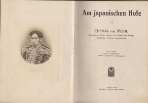 Ottmar von Mohl. Strona tytułowa jego wspomnień. Berlin 1904 (ze zbiorów własnych) / Ottmar von Mohl. Front page from his memories from the Emperor's court, Berlin 1904
