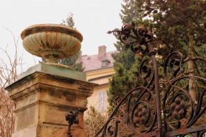 Ogrodzenie / Stare żeliwo