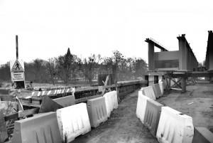 Die Alte- NeueBruecke / Stary-nowy most, Plawniowitz / Plawniowice