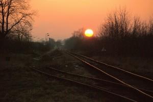 Taki zachód słońca wokolicy  Bieńkowic