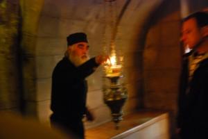 Kaplica Adama (podSkałą Golgoty)  (Jerozolima, 2013)