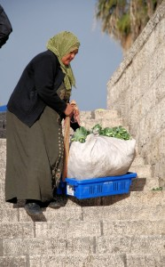 W drodze na targ / Going to the market (Jerusalem in the morning)