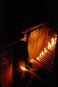 Świece przy Grobie (Jerozolima, 2013)