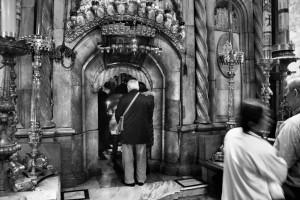 Ego sum porta. Bazylika Grobu Bożego (Jerozolima, 2013)