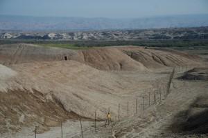 A Border - Mines  / Granica - pola minowe (Granica jordańsko-izraelska -  Jordanian - Israeli  Border)
