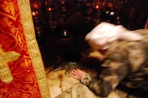 Touch / Dotyk (Betlejem, Bazylika Narodzenia Pańskiego / Bethlehem, Church of the Nativity)
