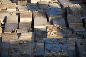 Jewish Cementary / Cmentarz żydowski  (Góra Oliwna - Mount of Olives, Jerusalem)